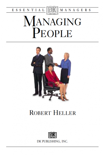 Essential Managers Managing People