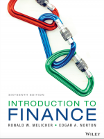 Introduction to Finance Markets Investments and Financial Management 16th Edition
