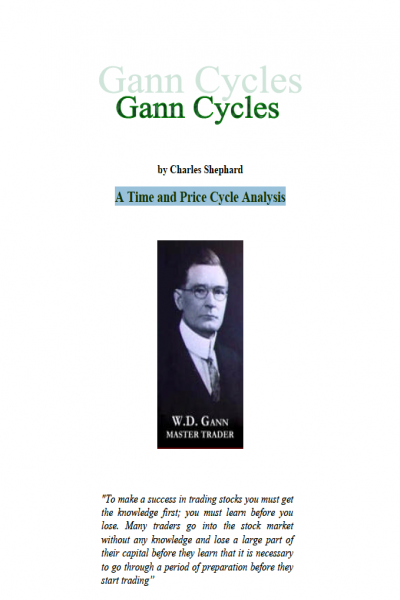Gann Cycles a Time and Price Cycle Analysis