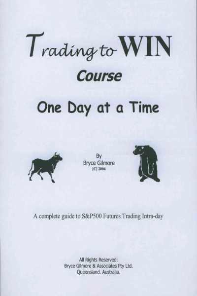 Trading to Win Course