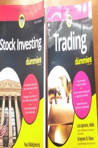 Bộ Sách 2 Cuốn Stock Investing for dummies 6th và Trading for dummies 4th