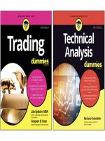 Bộ Sách Trading for dummies 4th và Technical Analysis for dummies 4th