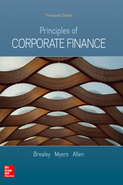 Principles of Corporate Finance 13th Edition Brealey Myers Allen