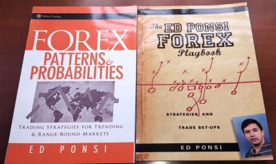 Bộ Sách 2 Cuốn Ed Ponsi Forex Patterns and Probabilities và The Ed Ponsi Forex Playbook