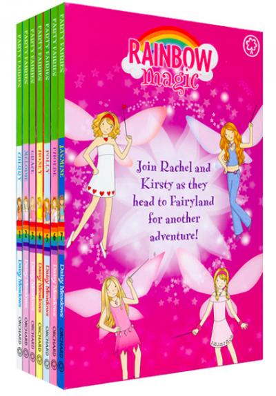 Bộ Sách 7 Cuốn Rainbow Magic Series Three - The Party Fairies