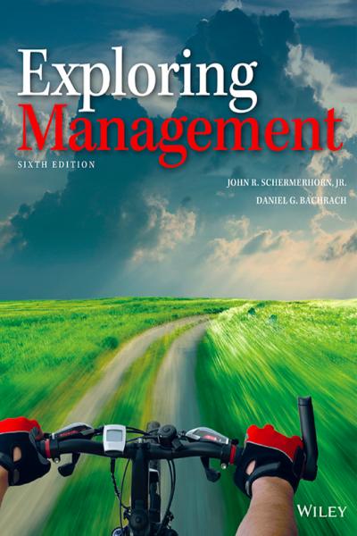 Exploring Management 6th